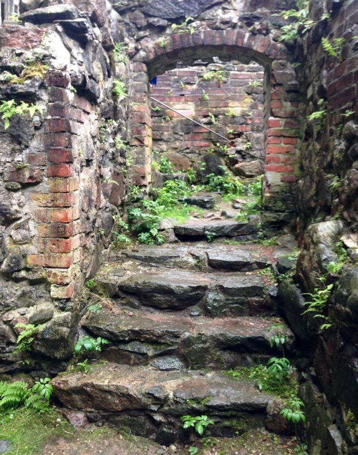 Architecture at Raseborg Castle