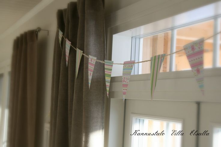 DIY: A string of paper pennant