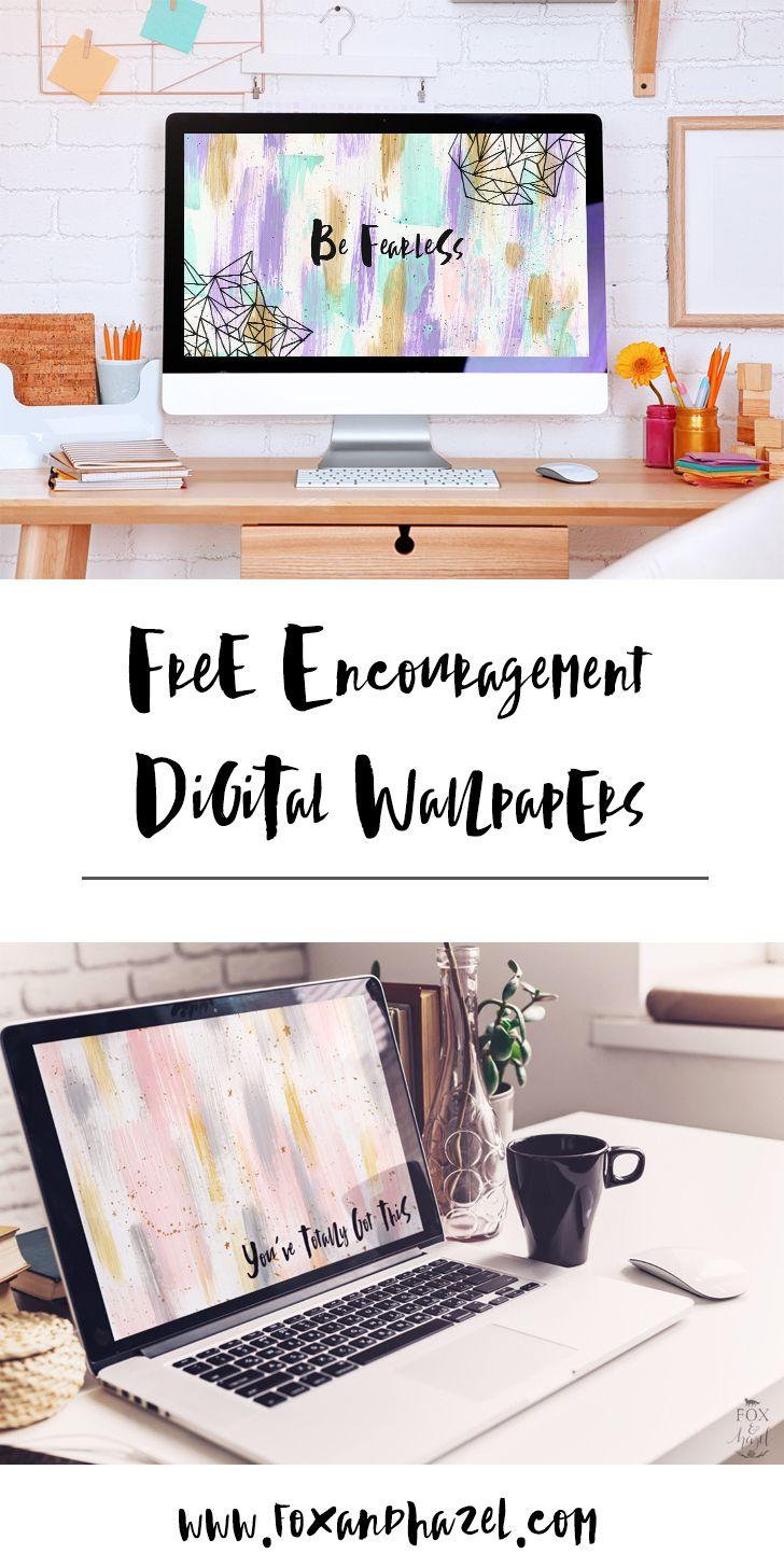 Free Encouragement Desktop Wallpaper