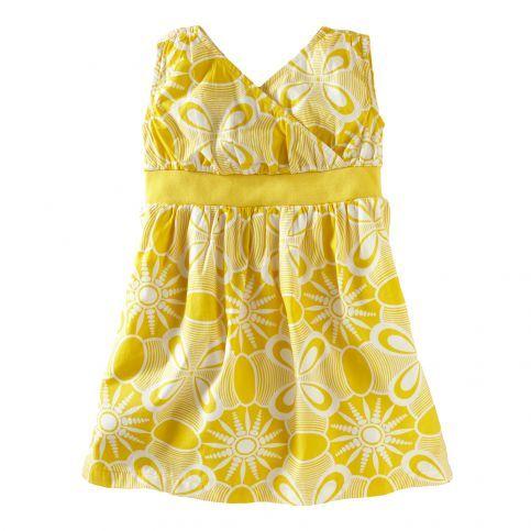 Crisp, lightweight cotton poplin makes this dress a natural for summer. #TeaSummer