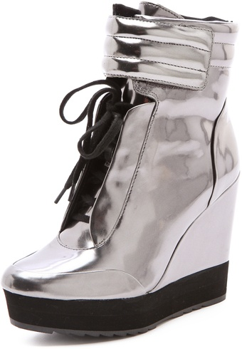 Boutique 9 Whispers Mirror Sneakers - Lyst
