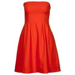 Robe bustier rouge #Dress - VERO MODA: Rouge Dresses, Bustiers Rouge, Bustier Dresses