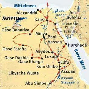 Grosse Ägypten-Rundreise