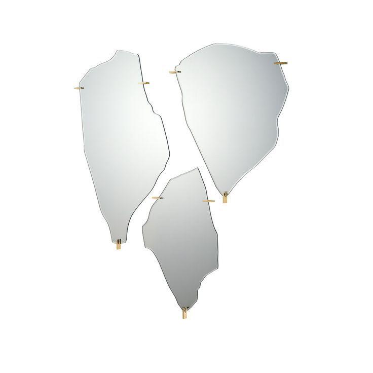 Mirrors: Archipelago by Driade | | #designbest #Salonedelmobile2015 #Designweek #MDW15 #living #homedecor #interiordesign @driadeofficial  |