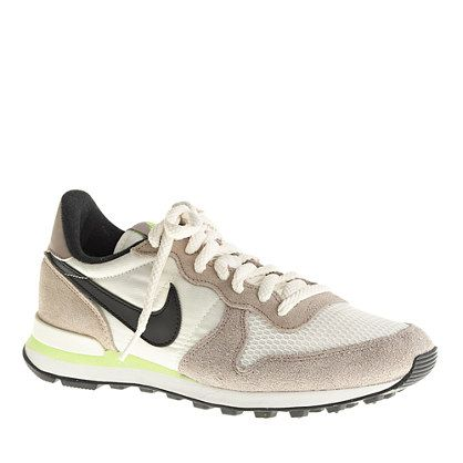The most popular shoe on the market right now are these classic Vintage Nike Internationalist. They are currently sold out everywhere and impossible to find.  J.Crew was where I first laid my eyes on these  Women's Nike Internationalist sneakers, I need them and want them. @southcoastplaza