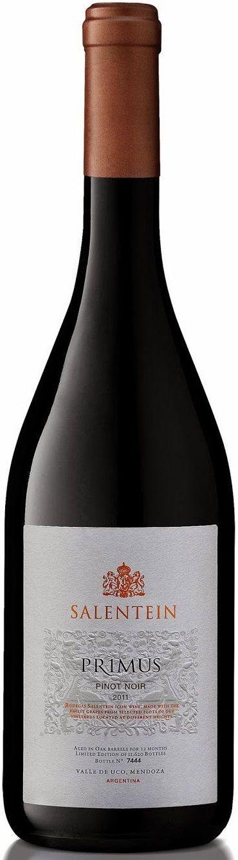 """""""Primus"""" Pinot Noir 2000 / 2007 / 2011 - Bodega Salentein, Tunuyán, Mendoza------------------------------- Terroir: Los Árboles (Tunuyán)-------Crianza: 12 meses en barricas de roble francés"""