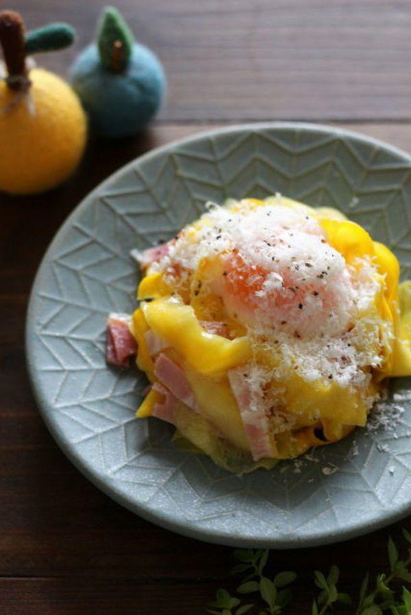 フレッシュズッキーニのレモン風味カルボナーラサラダ by 小澤 朋子 | レシピサイト「Nadia | ナディア」プロの料理を無料で検索