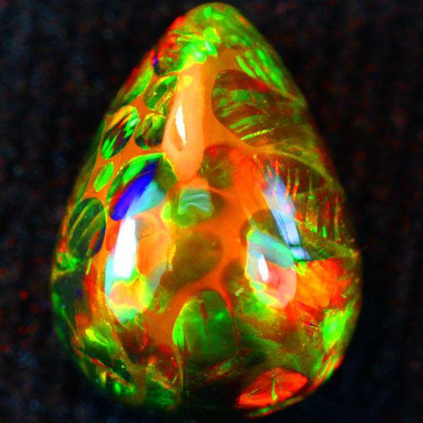Welo Opal Snakeskin pattern Loose Diamonds & Gemstones, Loose Gemstones