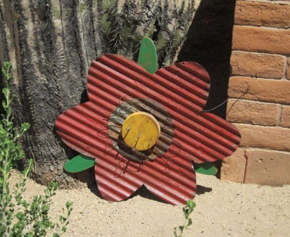 17 Best Images About Corrugated Metal Art On Pinterest