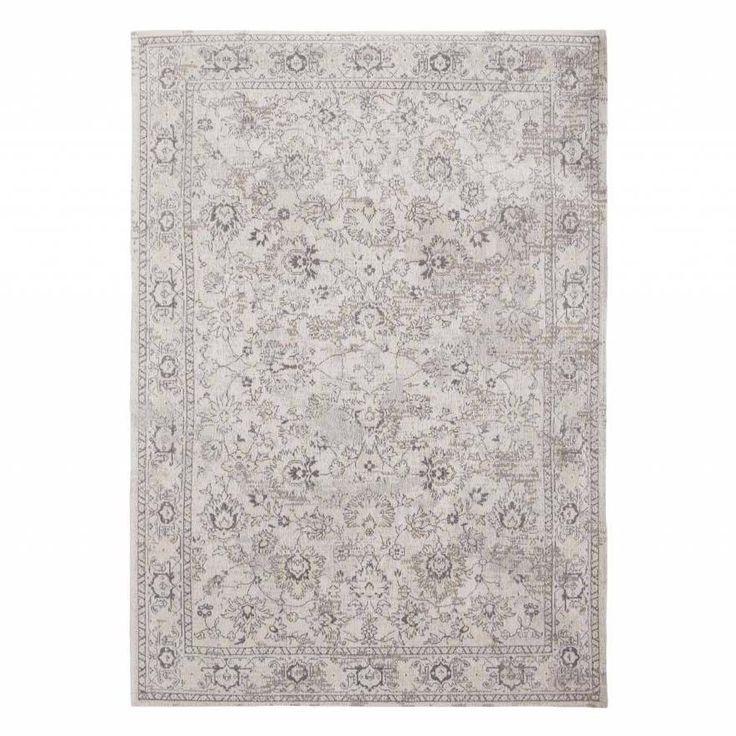 Белый ковер 'Персидский мотив' Woodstock White