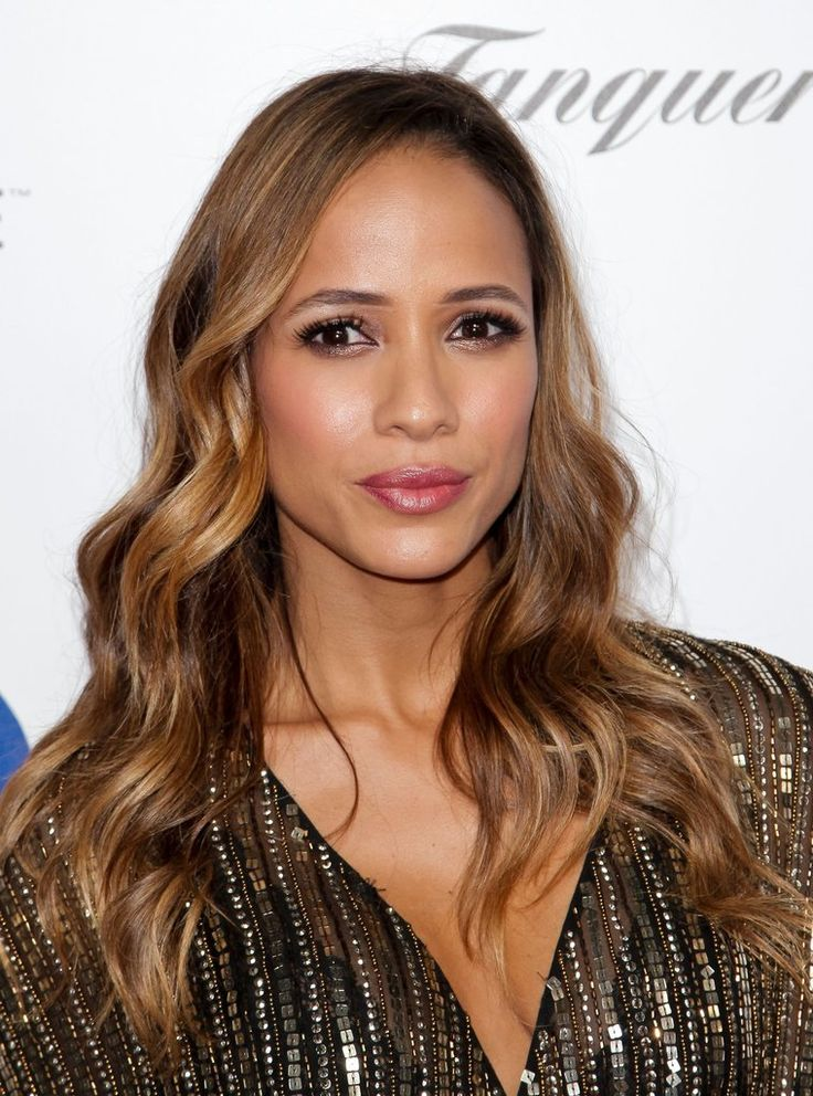 Allow us to introduce you to some of our favorite beauty looks for Spring, like Dania Ramirez's neutral shimmery eye