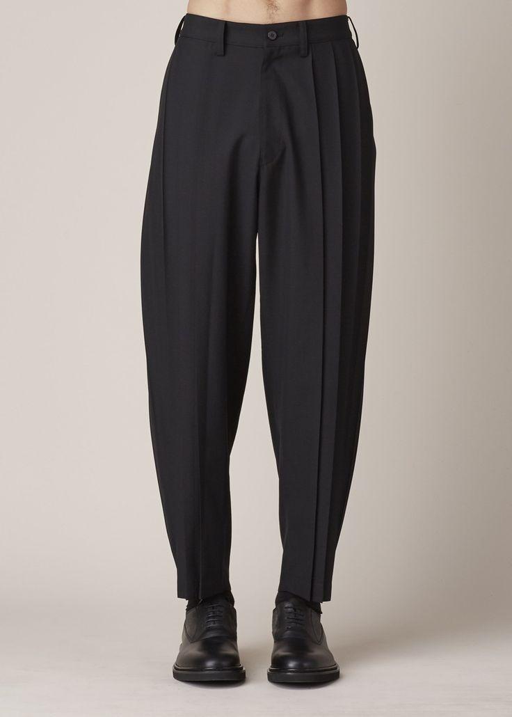 Issey Miyake Pleated Loose Pant (Black)