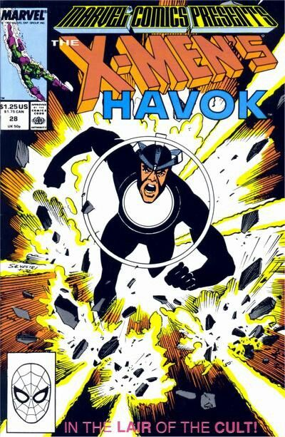 X-Men's Havok - an awesome member who deserves a larger role in modern marvel times