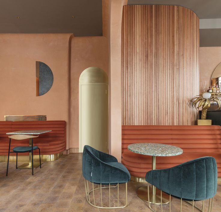 In transforming the ground floor and basement of a Grade II-listed Victorian corner block in London's Pimlico neighbourhood into Omar's Place, a modern Mediterranean restaurant, interiors studio Sella Concept (with help from architecture consultancy Wi...