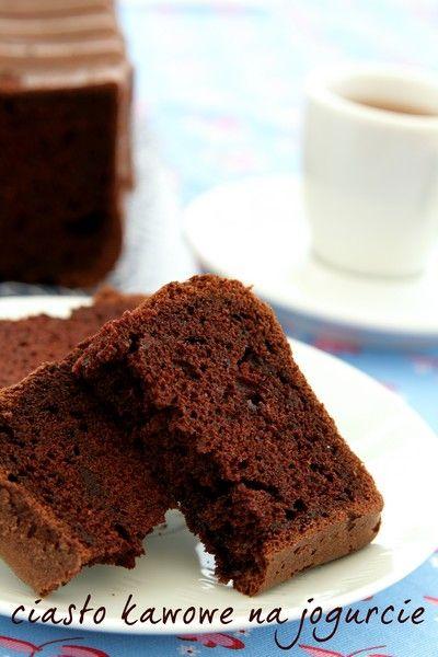 Kakaowo - kawowe ciasto na jogurcie