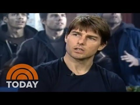 Tom Cruise's Heated Interview With Matt Lauer | Archives | TODAY - YouTube
