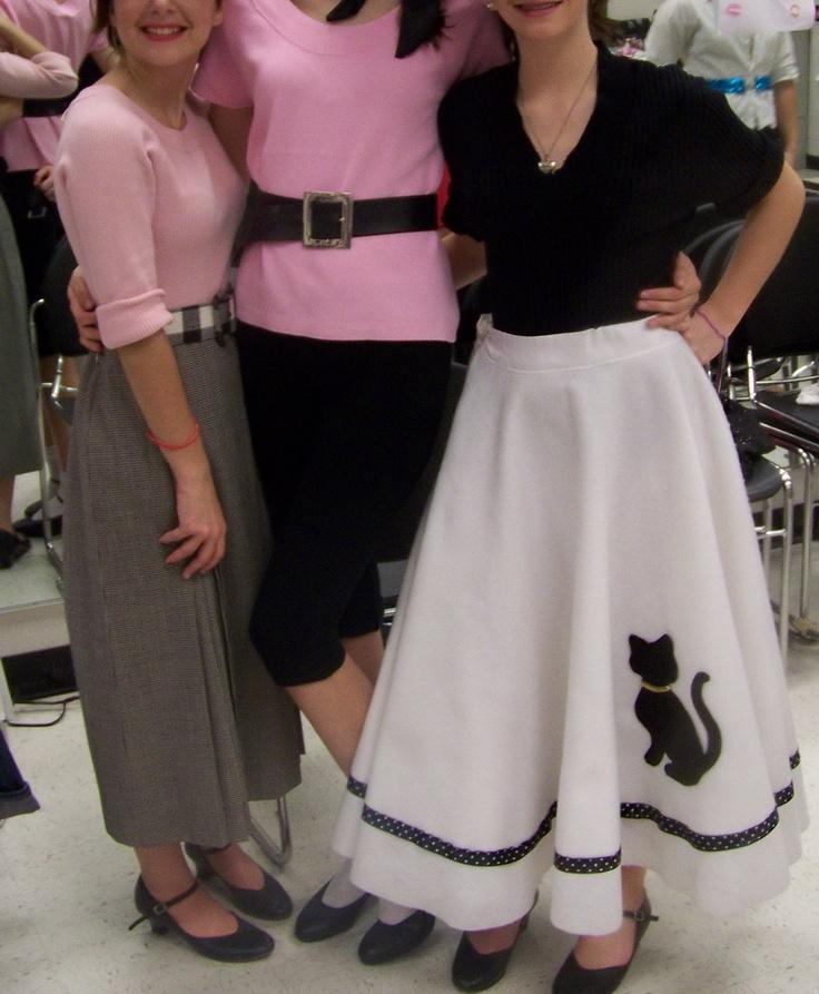 17 Best Poodle Skirts Images On Pinterest Poodle Skirts