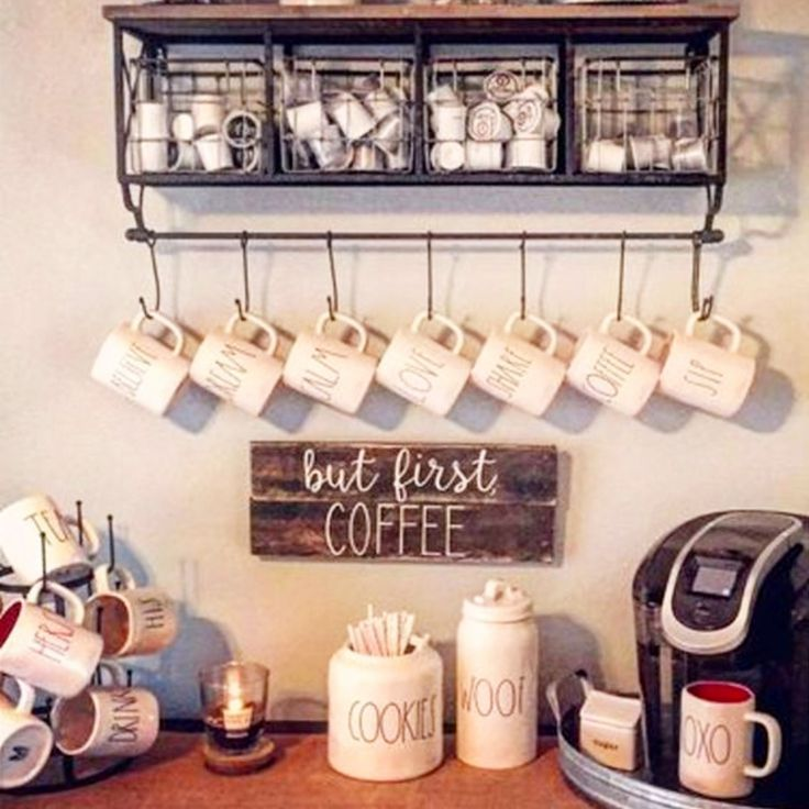 The 25+ Best Coffee Stations Ideas On Pinterest | Coffee Bar Ideas, Coffe  Bar And Coffee Nook