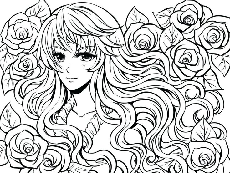 Complex Coloring Pages For Teens And Adults Best Coloring Pages For Kids Cartoon Coloring Pages Chibi Coloring Pages Coloring Pages For Girls