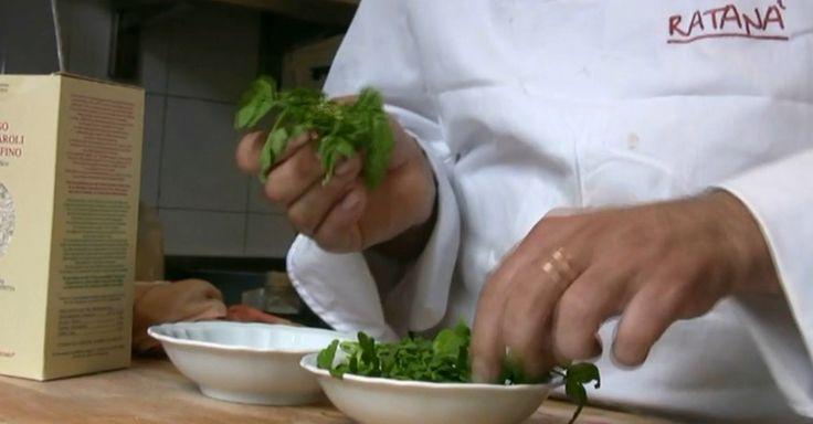Il risotto al crescione dello chef Battisti -