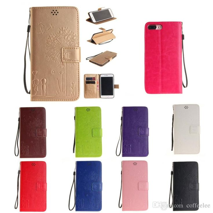 Cool Cell Phone Pu Leather Magnetic Case Lovers And Dandelion Embossing Folioing Wallet Flip Stand Cover Case Built In Card Slots And Hand Strap Cell Phone Case Wholesale Clear Cell Phone Cases From Coffeelee, $1.89| Dhgate.Com