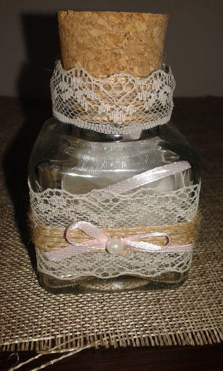 Μπομπονιέρα Γάμου Vintage Βαζάκι!