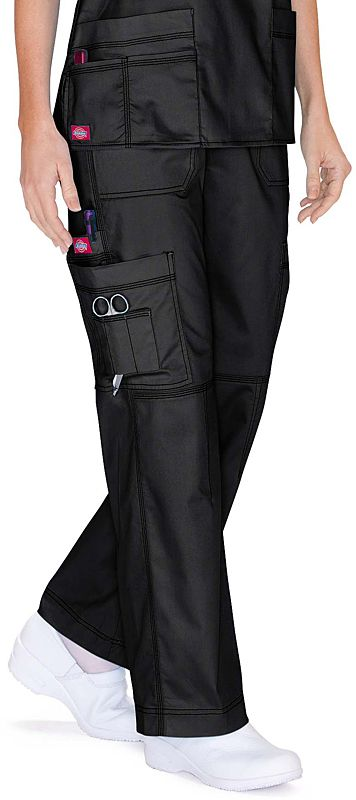 Scrubs - Dickies Youtility 9 Pocket Scrub Pant | Dickies Gen Flex Scrubs | Dickies Uniforms | www.LydiasUniforms.com                                                                                                                                                                                 Más