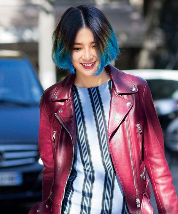 Haircut and hairstyle ideas for short hair - click for celebrity and street style inspiration for bobs, pixie cuts, and shoulder-length hair.