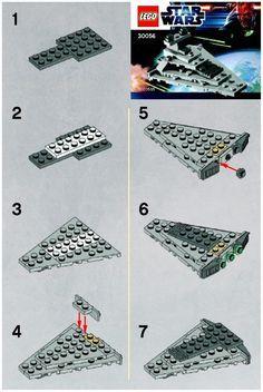 Star Wars - Mini Star Destroyer [Lego 30056]
