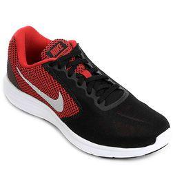 Tênis Nike Revolution 3 - Vermelho+Preto