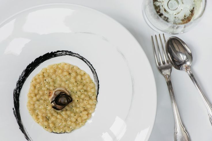 Salt Cod Gnocchetti with Truffles of the Sea Antonino Cannavacciuolo, Villa Crespi, Lago d'Orta, Italy