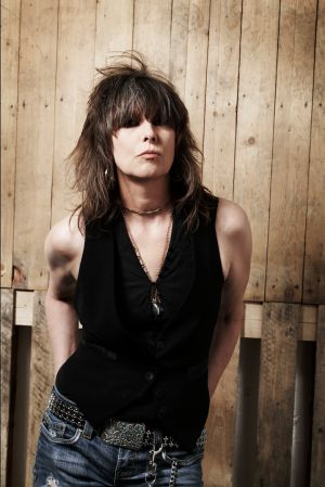 Chrissie Hynde (b. Sept. 1951) in Sept. 2014 - if you have the arms, show them