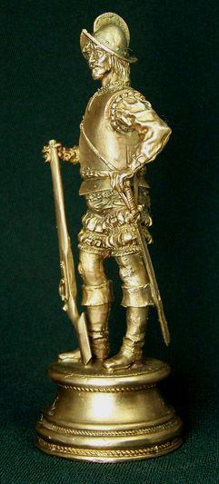 Бронзовая скульптура Конкистадор