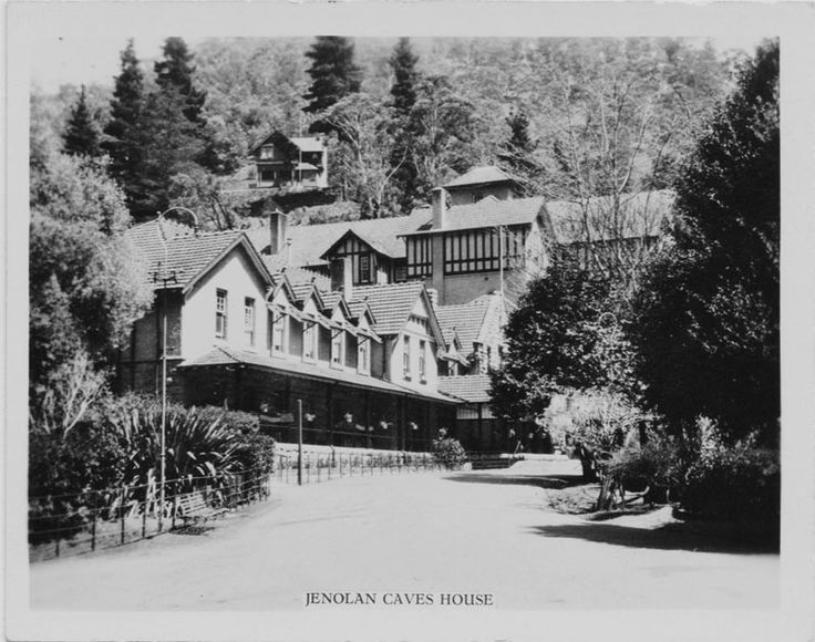 Jenolan Caves-Caves House .built c.1897 as accommodation for the Wealthy.