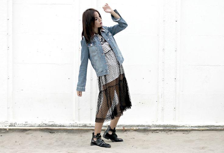 """L'estetica del """"brutto"""", theladycracy.it, cult moda anni 90, anni novanta outfit, anni 90 stile,, grunge style 2016, abito trasparente moda 2016, come indossare abito trasparente 2016, blogger moda 2016, fashion blog 2016, elisa bellino, fashion blogger più influenti 2016, fashion blogger milano 2016,"""