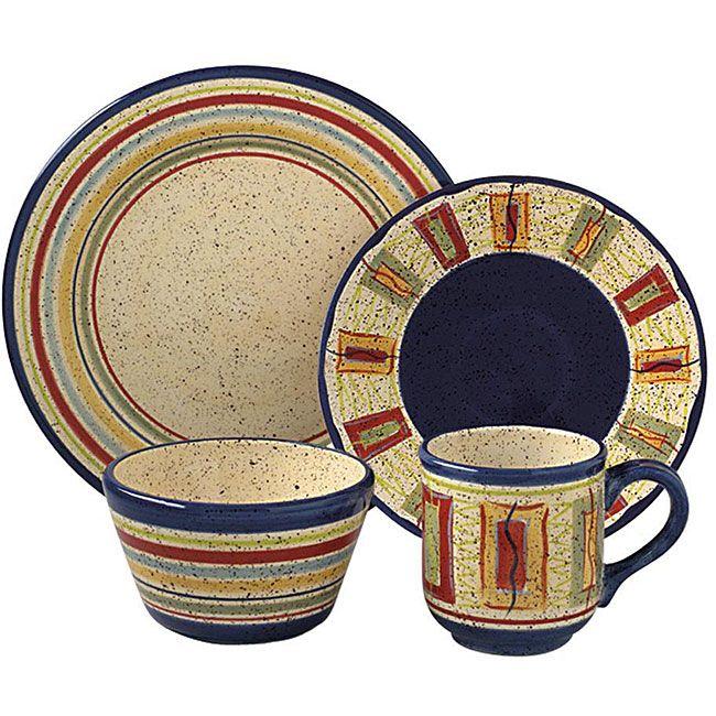 your dining experience with pfaltzgraff sedona 48piece dinnerware set u003c - Pfaltzgraff Patterns