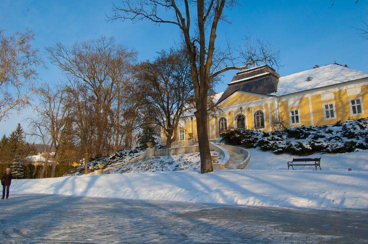 A Prónay-kastély télen