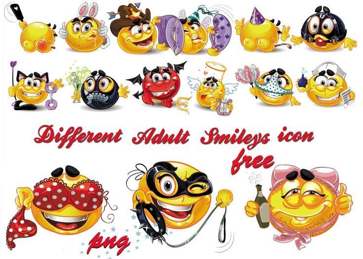 Emoticons Different Adult Smileys by AEONFLAX (Chiara Alchimia) Una divertente raccolta di 15 emoticons in formato Png di varie dimensioni - da una minimo di 600 pixel ad un massimo di 929. Che Aspettate?