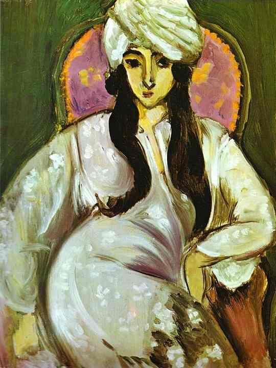 Henri Matisse - Laurette in a White Turban, 1916