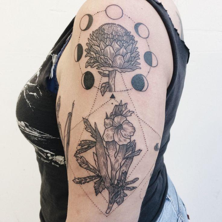 Image result for artichoke tattoo sacred geometry