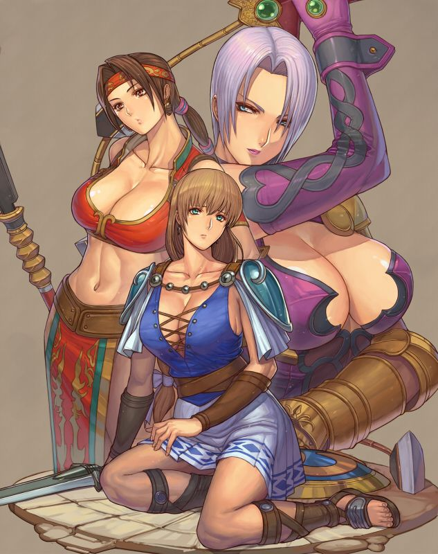 naughty soul calibur girls