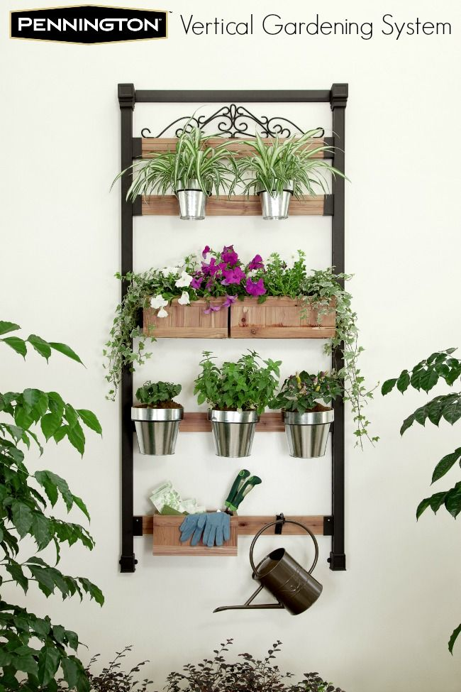 Pennington Vertical Gardening System #GrowWithUs. #Win a $50 Home Depot gift card!