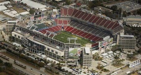 Raymond James Stadium, Tampa FL.