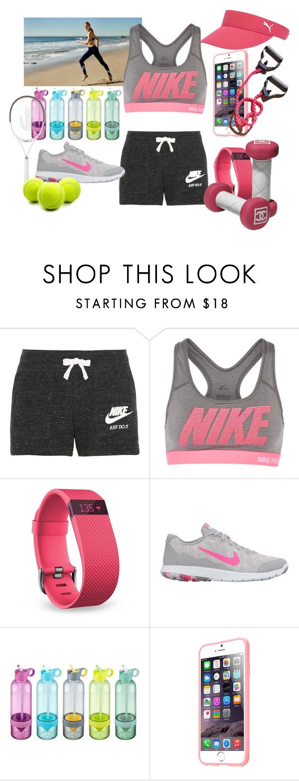 """""""Untitled #206"""" by frupapp on Polyvore featuring Tory Sport, NIKE, Fitbit and Puma"""