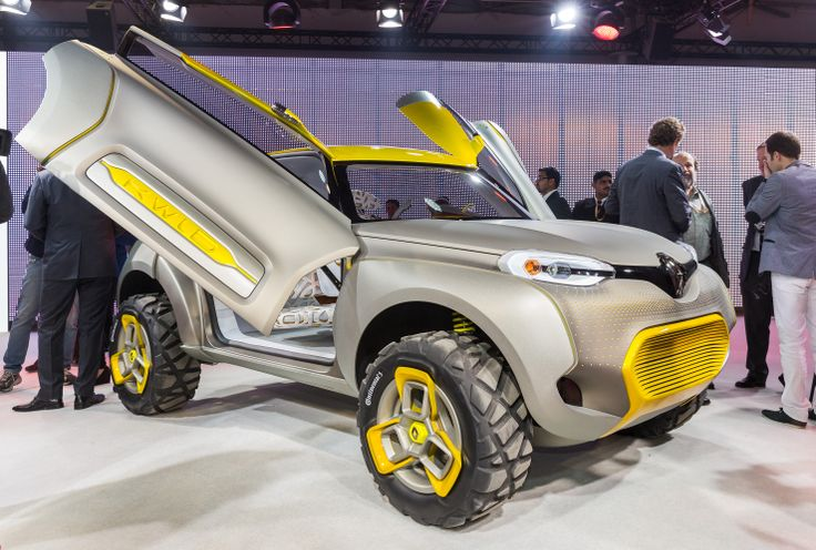 #KWID CONCEPT, a concept car unveiled at the Delhi Auto Show, highlights both Renault's commitment to new markets, such as India, as well as the company's ability to produce appealing products in the compact car segment. The vehicle's robust, yet fun design, along with its technology-driven features, is targeted at meeting the needs of young customers in these markets. (c) OMG - Droits réservés #Renault