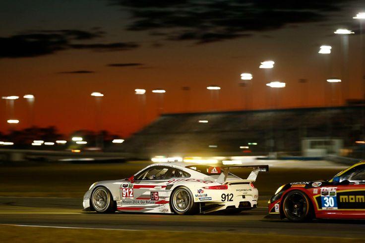 Porsche at Daytona International Speedway.