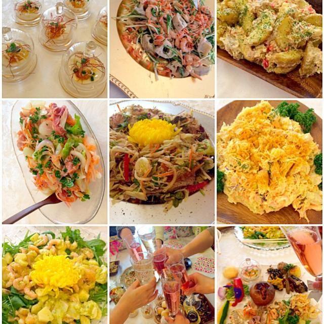 レッスン後のパーティ どれもこれも美味しかったです - 52件のもぐもぐ - Delicious dishes by mayalabeille18まあやさんの美味しいお料理の数々❗ by Ami