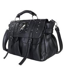 ★ Skull ★ Women Handbag LIMITED TIME ONLY! NOT SOLD IN STORESShips 2 to 5 days Estimated shipping time 1 to 3 weeksDecoration: Appliques,Rivet,DiamondMain Material: PU