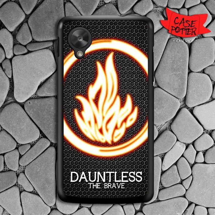Divergent Dauntless The Brave Nexus 5 Black Case
