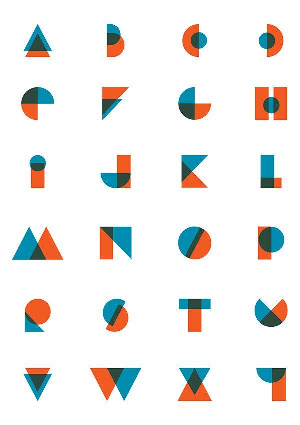 """trendgraphy: """"Duplex Font Design by Christoph Ruppli Twitter """""""